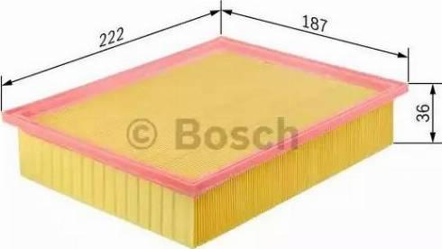 BOSCH F 026 400 153 - Filtru aer reperautotrans.ro
