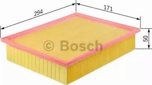 BOSCH F 026 400 105 - Filtru aer reperautotrans.ro