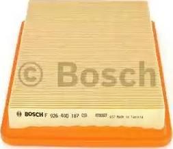 BOSCH F 026 400 187 - Filtru aer reperautotrans.ro