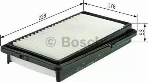 BOSCH F 026 400 125 - Filtru aer reperautotrans.ro