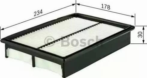 BOSCH F 026 400 127 - Filtru aer reperautotrans.ro