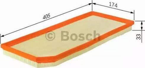 BOSCH F 026 400 178 - Filtru aer reperautotrans.ro