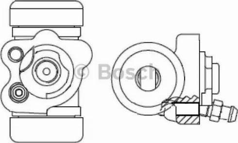 BOSCH F 026 002 393 - Cilindru receptor frana reperautotrans.ro