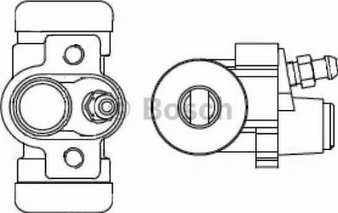 BOSCH F 026 002 384 - Cilindru receptor frana reperautotrans.ro
