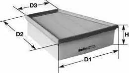 Clean Filters MA3086 - Filtru aer reperautotrans.ro