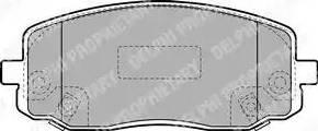 Delphi LP1933 - Set placute frana, frana disc reperautotrans.ro
