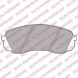 Delphi LP2094 - Set placute frana, frana disc reperautotrans.ro