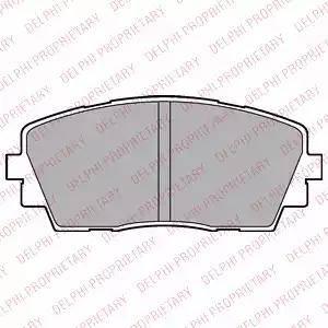 Delphi LP2296 - Set placute frana, frana disc reperautotrans.ro