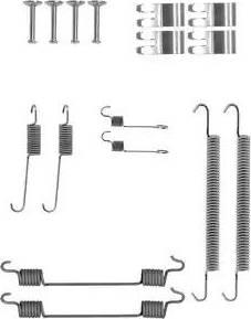 Delphi LY1407 - Set accesorii, sabot de frana reperautotrans.ro
