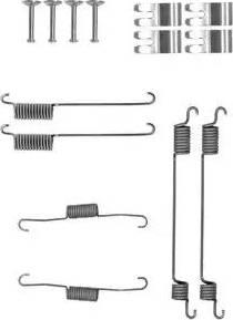 Delphi LY1410 - Set accesorii, sabot de frana reperautotrans.ro