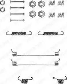 Delphi LY1055 - Set accesorii, sabot de frana reperautotrans.ro