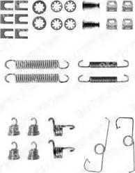 Delphi LY1053 - Set accesorii, sabot de frana reperautotrans.ro