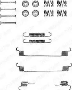 Delphi LY1061 - Set accesorii, sabot de frana reperautotrans.ro
