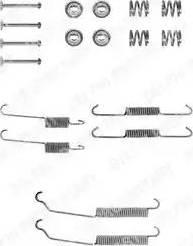 Delphi LY1129 - Set accesorii, sabot de frana reperautotrans.ro