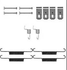 Delphi LY1399 - Set accesorii, sabot de frana reperautotrans.ro