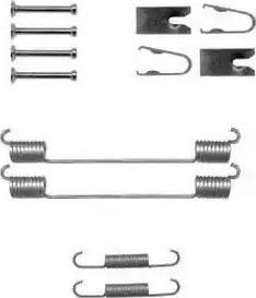Delphi LY1369 - Set accesorii, sabot de frana reperautotrans.ro