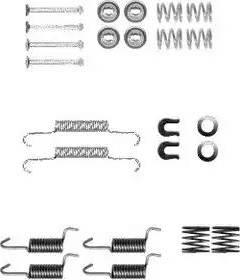 Delphi LY1367 - Set accesorii, sabot de frana reperautotrans.ro