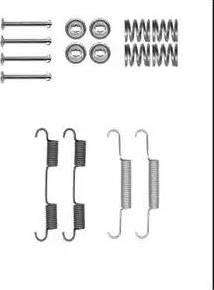 Delphi LY1385 - Set accesorii, sabot de frana reperautotrans.ro