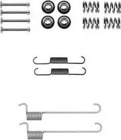 Delphi LY1379 - Set accesorii, sabot de frana reperautotrans.ro