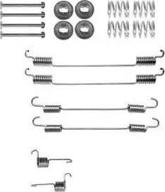 Delphi LY1378 - Set accesorii, sabot de frana reperautotrans.ro