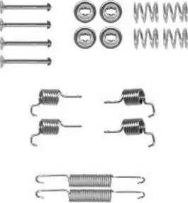 Delphi LY1372 - Set accesorii, sabot de frana reperautotrans.ro