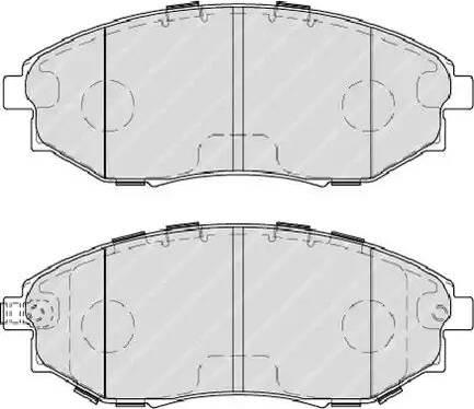Ferodo FDB4304 - Set placute frana, frana disc reperautotrans.ro