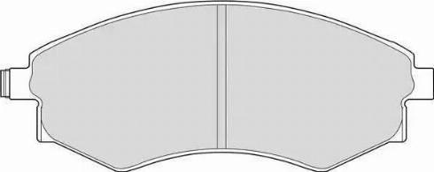 Ferodo FDB600 - Set placute frana, frana disc reperautotrans.ro