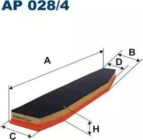Filtron AP028/4 - Filtru aer reperautotrans.ro