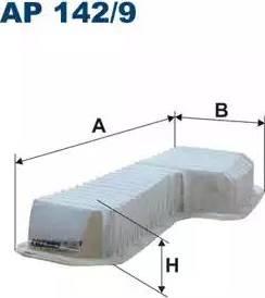 Filtron AP142/9 - Filtru aer reperautotrans.ro