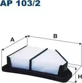 Filtron AP103/2 - Filtru aer reperautotrans.ro