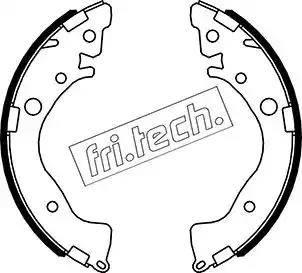 Fri.Tech. 1044.028 - Setul de franare, frane cu tambur reperautotrans.ro