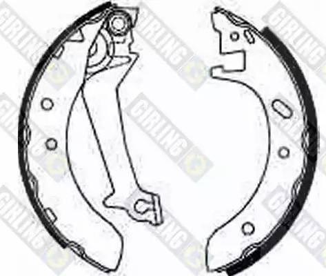 Girling 5185371 - Setul de frânare, frâne cu tambur reperautotrans.ro