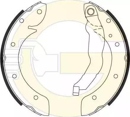 Girling 5185281 - Setul de frânare, frâne cu tambur reperautotrans.ro