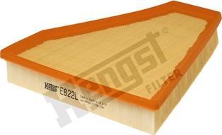 Hengst Filter E822L - Filtru aer reperautotrans.ro