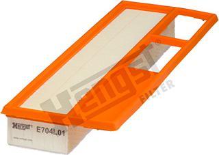 Hengst Filter E704L01 - Filtru aer reperautotrans.ro