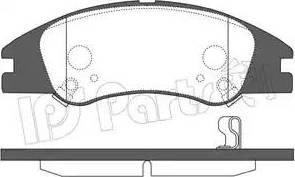 IPS Parts IBD-1K15 - Set placute frana, frana disc reperautotrans.ro