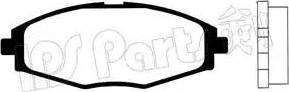 IPS Parts IBD-1W04 - Set placute frana, frana disc reperautotrans.ro