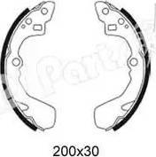 IPS Parts IBL-4006 - Sabot frana reperautotrans.ro