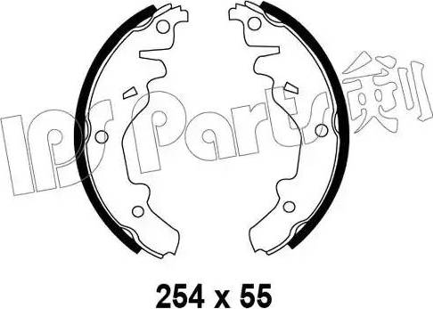 IPS Parts IBL-4342 - Sabot frana reperautotrans.ro