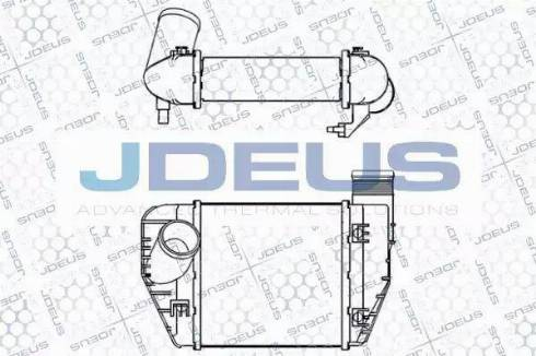 Jdeus 801M39A - Intercooler, compresor reperautotrans.ro