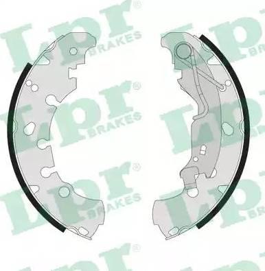 LPR 09090 - Setul de frânare, frâne cu tambur reperautotrans.ro