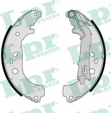 LPR 09290 - Setul de frânare, frâne cu tambur reperautotrans.ro