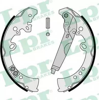 LPR 09205 - Setul de frânare, frâne cu tambur reperautotrans.ro
