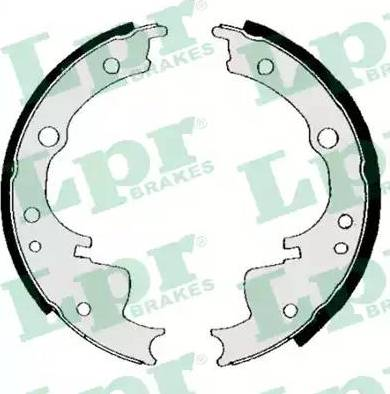 LPR 04330 - Setul de frânare, frâne cu tambur reperautotrans.ro
