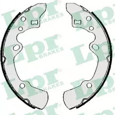 LPR 05620 - Setul de frânare, frâne cu tambur reperautotrans.ro