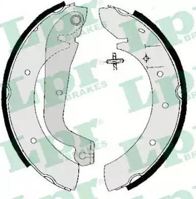 LPR 05020 - Setul de frânare, frâne cu tambur reperautotrans.ro