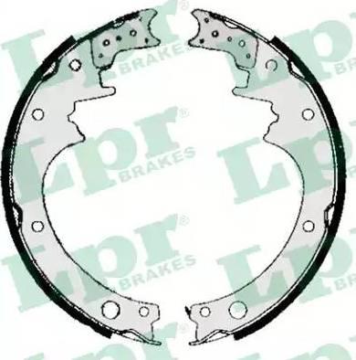 LPR 05200 - Setul de franare, frane cu tambur reperautotrans.ro