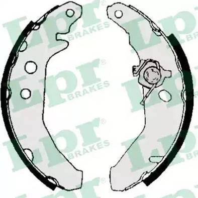 LPR 05740 - Setul de frânare, frâne cu tambur reperautotrans.ro