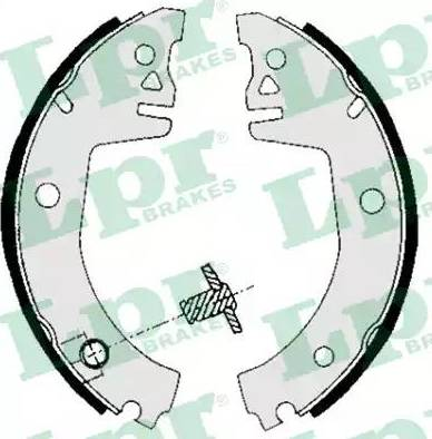 LPR 05780 - Setul de franare, frane cu tambur reperautotrans.ro