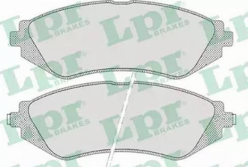 LPR 05P682 - Set placute frana, frana disc reperautotrans.ro